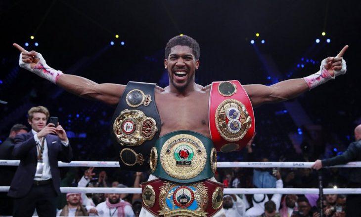 Joshua detyrohet të përballet me këtë boksier