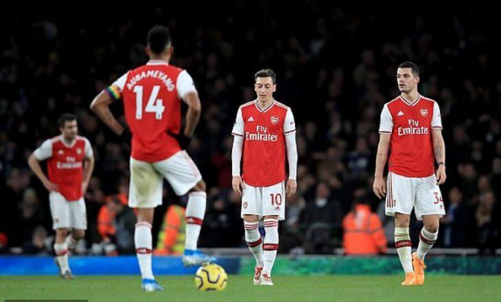 Arsenal – Brighton, kështu u vlerësua Xhaka në humbjen e londinezëve