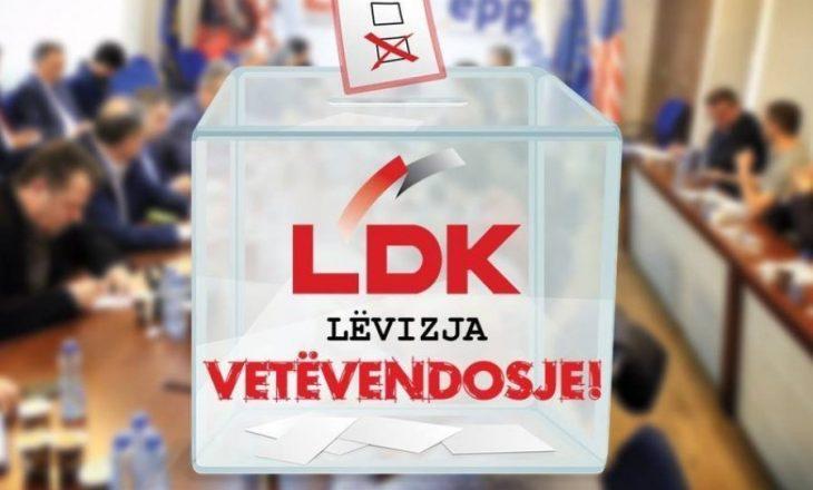 """""""VV kushtëzohet të bashkëpunojë me LDK-në edhe nëse shkohet në zgjedhje"""""""