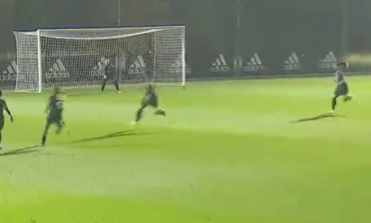 Momenti kur Kosovare Asllani shënoi gol dhe ia siguroi fitoren Real Madridit