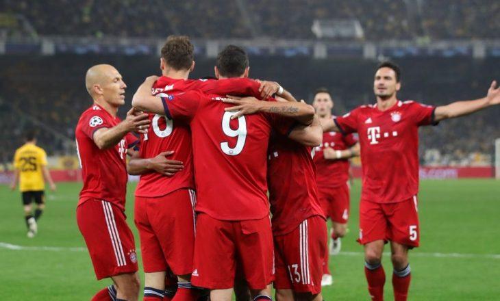 Bayern Munich uron futbollistin shqiptar