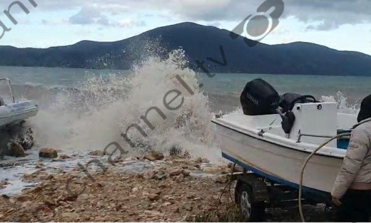 Dallgë deri në 8 ballë në Shqipëri, shkaktohen probleme në portin e Vlorës