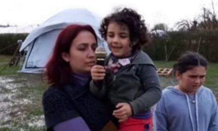 Tërmeti i 26 nëntorit: Nëna që jeton ende nën çadra me fëmijën e sëmurë, kjo është thirrja e saj