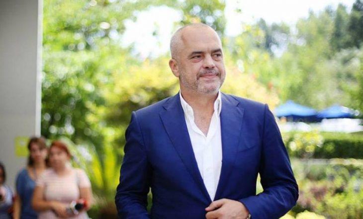 Rama shpërndanë video me fjalimin e tij të mbajtur në Kuvendin e Shqipërisë (VIDEO)