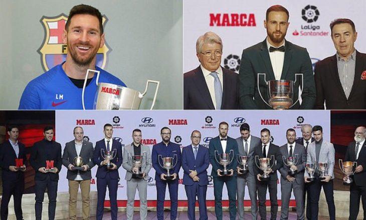 Një sezon magjik, Messi fiton dy çmime të tjera [Video]