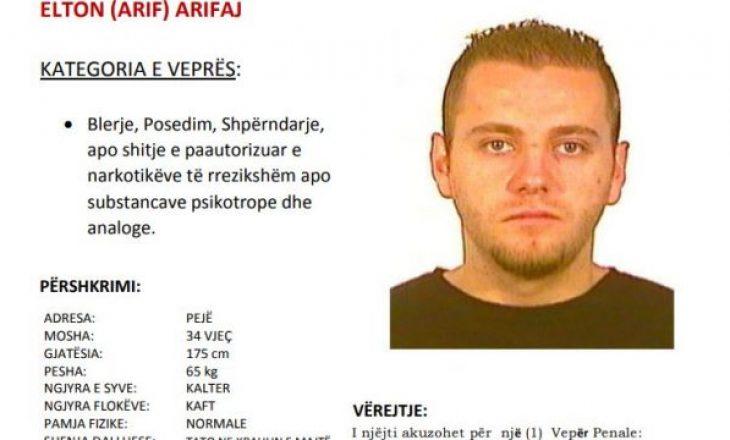 Policia kërkon ndihmë për arrestimin e këtij personi