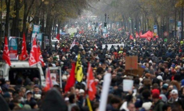 Mbi 500 mijë francezë protestojnë kundër reformës së pensioneve