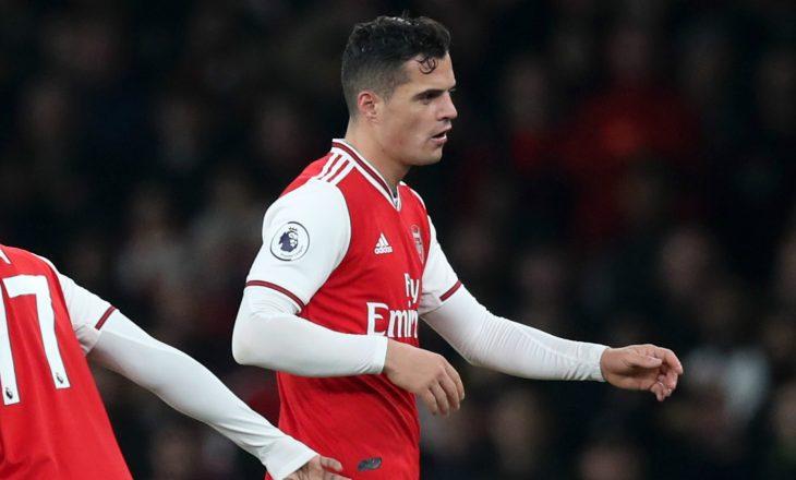 """""""Bomba"""" e mbrëmjes – agjenti i Xhakës konfirmon largimin e lojtarit nga Arsenali"""