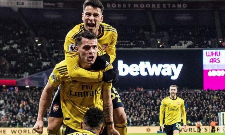 Luajti sërish titullar – ky është vlerësimi për Xhakën në fitoren e Arsenalit