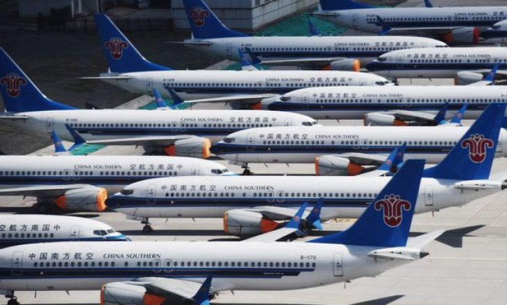 Efektet e pezullimit të prodhimit të aeroplanit 737 Max