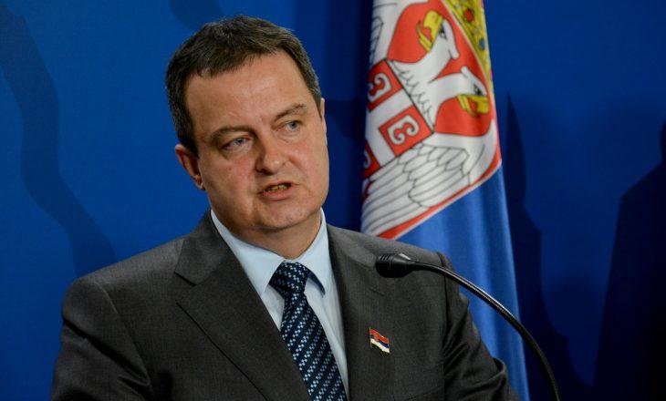 Ivica Daçiq tregon sesi po e zhvillon fushatën për t'ia hequr njohjet Kosovës