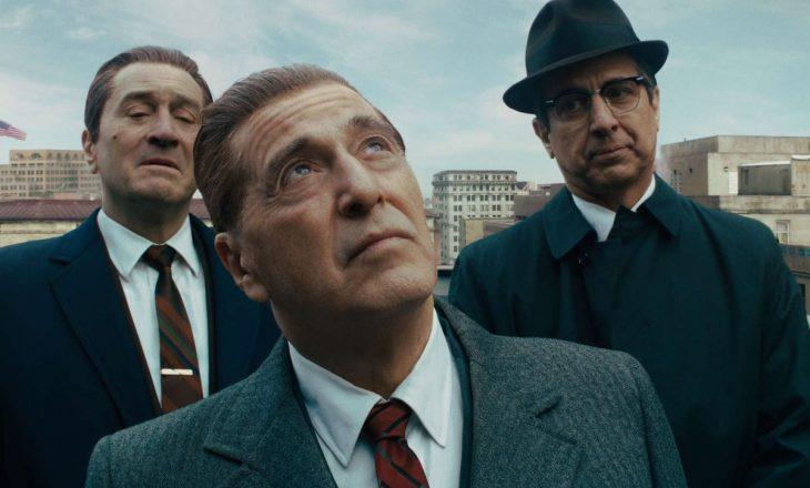 """Filmi """"The Irishman"""", me shikueshmëri të madhe në Netflix"""