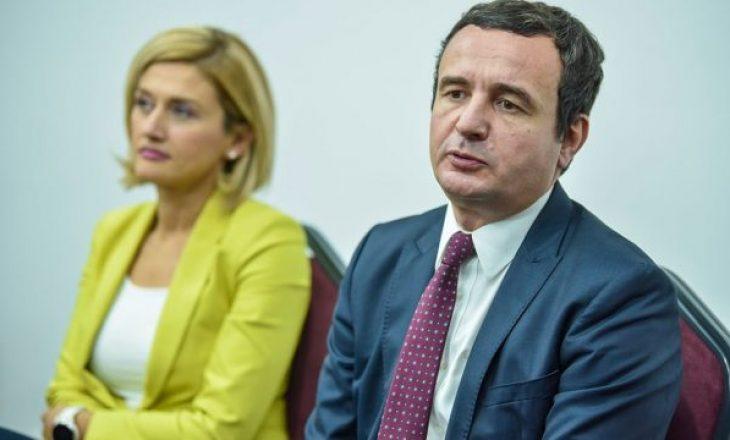 """""""Albin Kurti nuk do ta pyesë LDK-në për shkarkimin e ministrave"""""""