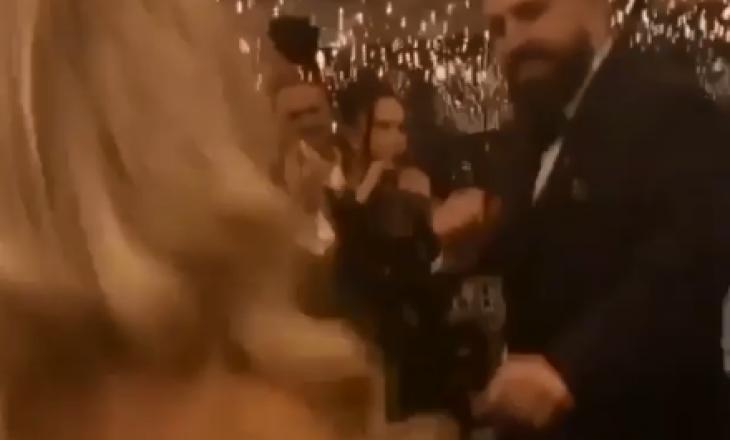 Sami Lushtaku në dasmën e Kreshës