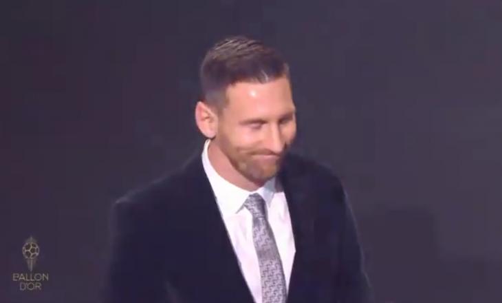 Ky është momenti kur Messi e fitoi Topin e Artë – pamje