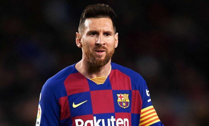 Dy skuadra i ofrojnë kontratë pesë vjeçare Messit