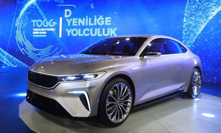 Automobili turk quhet TOGG, ja veçorite e makinës totalisht Made in Turkey
