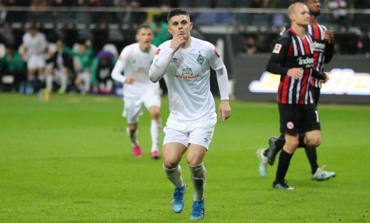Gjermanët zbulojnë shifrën që kërkon Werderi për Rashicën