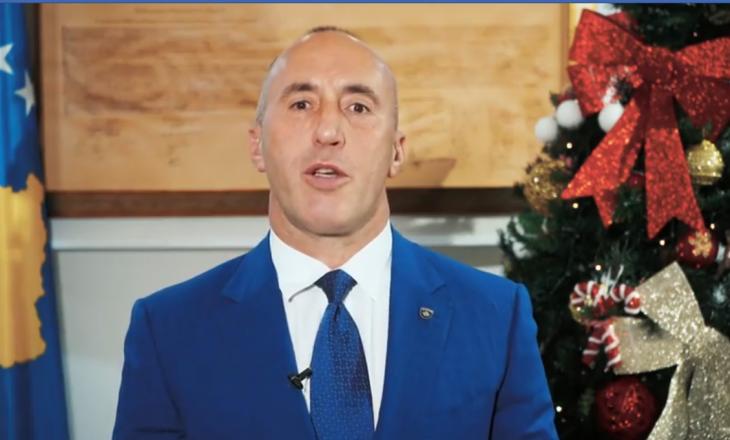 Ky është urimi i Ramush Haradinajt për Vitin e Ri