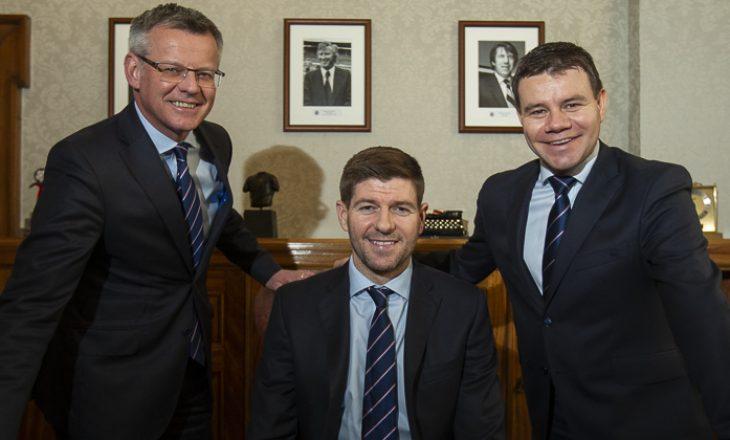 ZYRTARE: Rangers dhe Steven Gerrard merren vesh për të ardhmen
