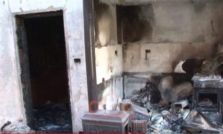 Zjarrëfikësit mbetën pa ujë, 12 banesa digjen në Shqipëri