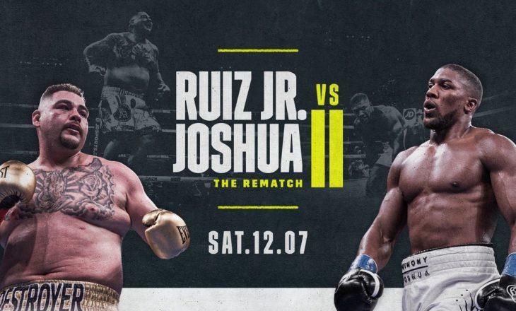 Ruiz vs Joshua – linku për LIVE