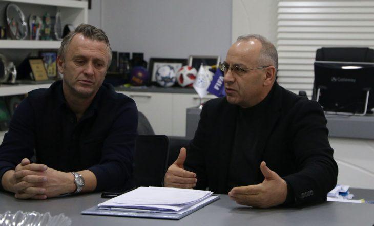 Agimi Ademi priti ish-kryetarët e FFK-së dhe ish-përzgjedhësit e Kosovës, ja për çka u diskutua