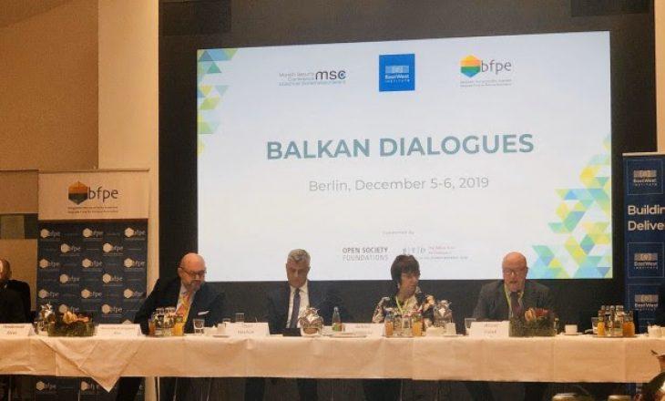 Thaçi: BE-ja po bllokon shtetet bashkëpunuese dhe po i shpërblen shtetet shantazhuese
