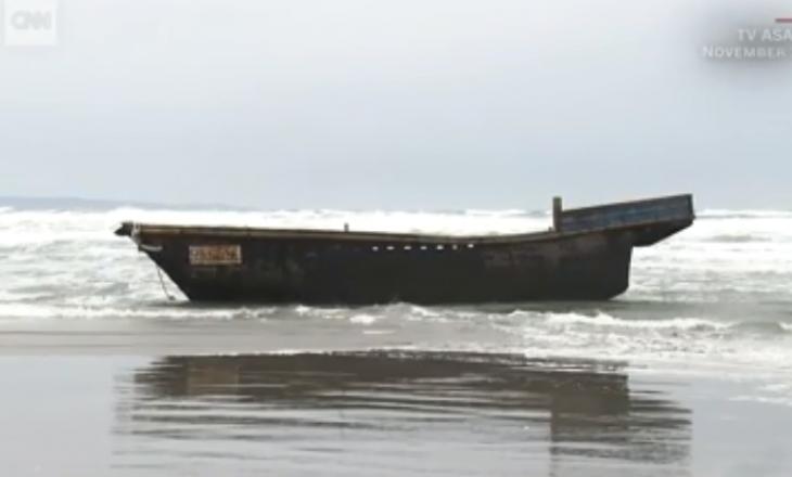 Barka fantazmë e Koresë Veriore me shtatë trupa gjendet në brigjet e Japonisë