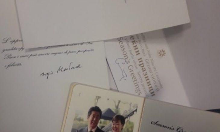 Thaçi pranon urime nga presidentët Mattarella, Pendarovski dhe kryeministri Abe