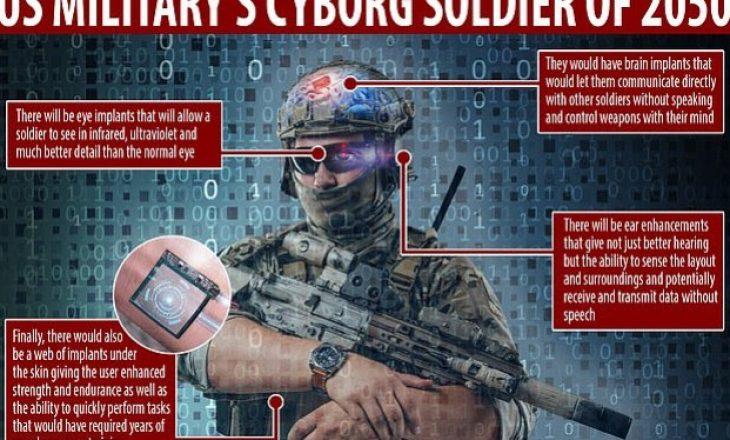 Ushtria amerikane në kërkim të Terminatorit të vërtetë për luftë
