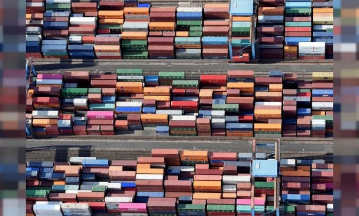 Eksportet gjermane u rritën në tetor për muajin e dytë me radhë