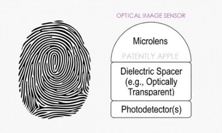 Patenta e fundit e Apple tregon sensorin Touch ID poshtë ekranit
