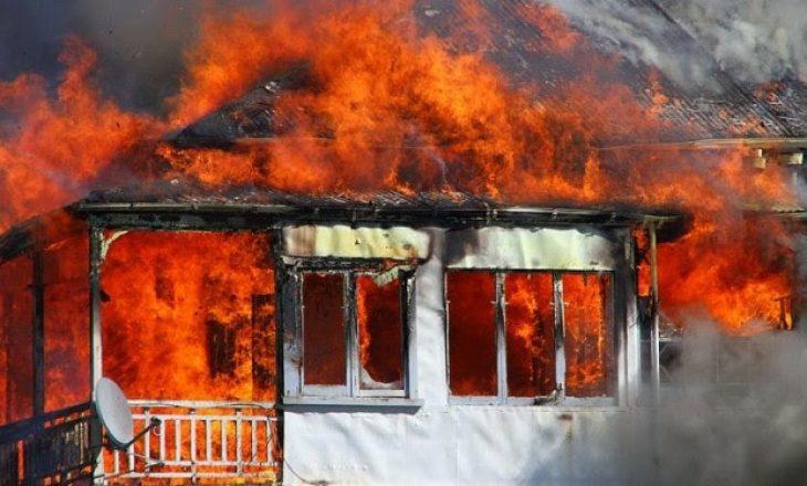 Zjarri kaplon një shtëpi, humb jetën pronari