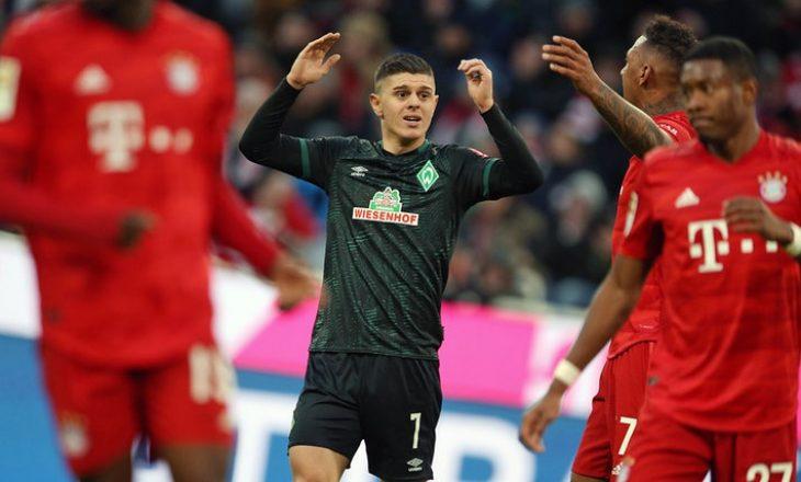 Mesazhi i Rashicës pas turpërimit nga Bayerni