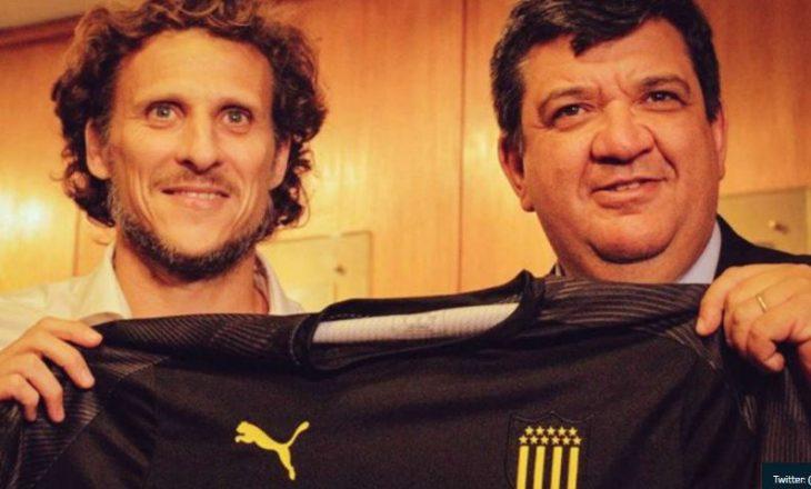 ZYRTARE: Diego Forlan bëhet trajner i skuadrës së njohur