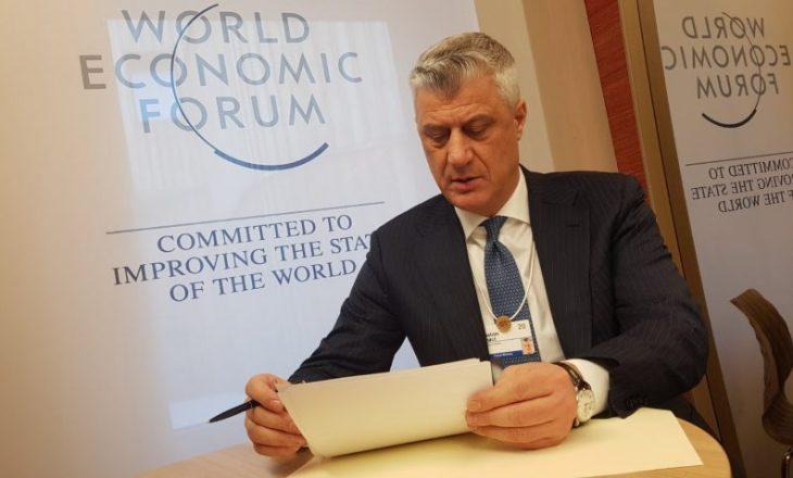 Thaçi: Roli i SHBA-ve mbetet i pazëvendësueshëm për të arritur paqe në Ballkanin Perëndimor