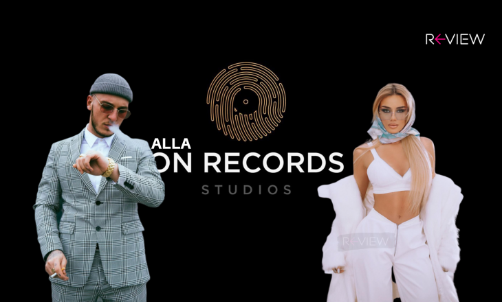 Videoklipi 'alla On Records' i Taynës dhe Mozzikut