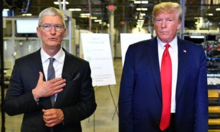 """Trumpi sulmon kompaninë """"Apple"""": Nuk po i zhbllokoni telefonat e vrasësve"""