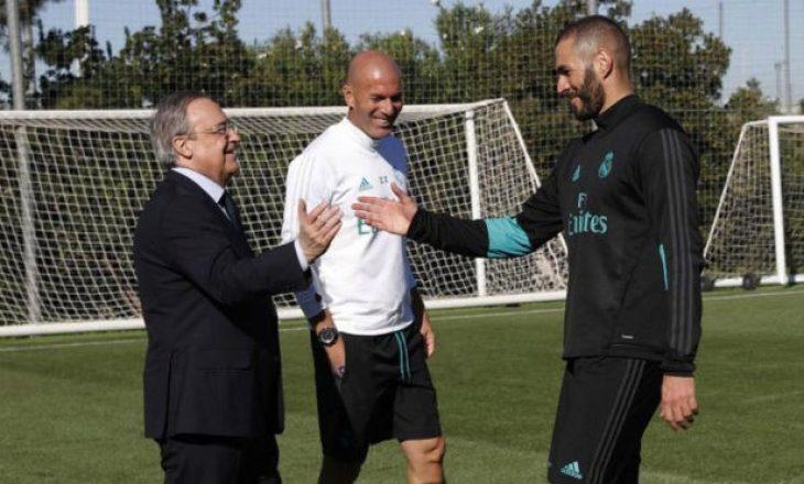 Benzema drejt largimit, Reali befason me pasuesin e tij