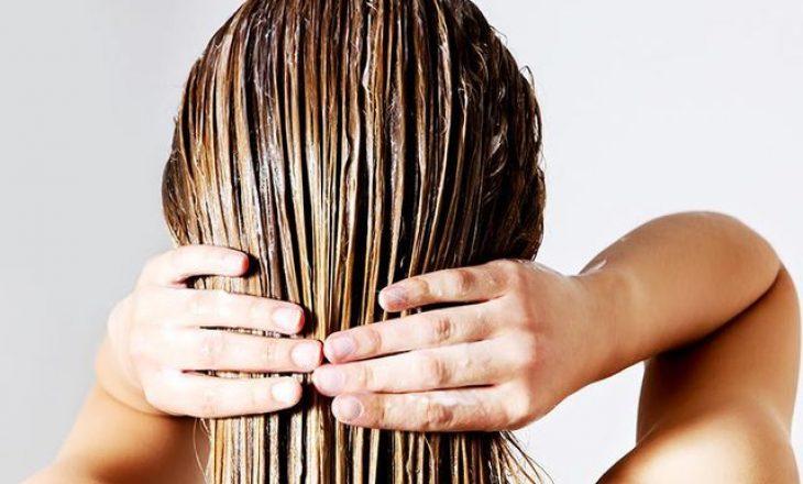 Çfarë ndodh me 'larjen e kundërt' të flokëve? Provoje me balsamin, pastaj me shampon