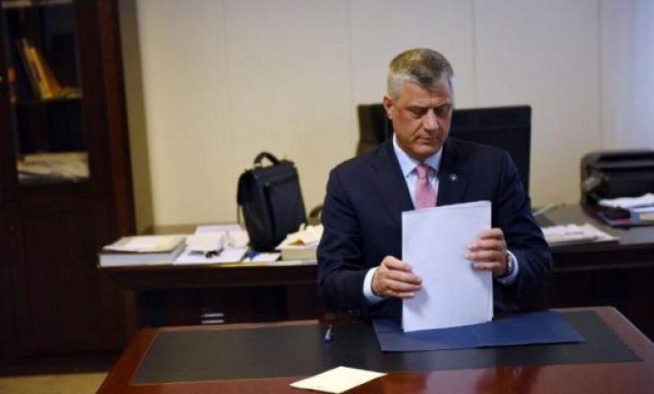 Ambasadorët s'mund të shkarkohen pa vendimin e Hashim Thaçit