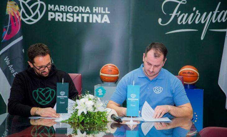 Marigona Hill sponsor i KB Kerasan Prishtina