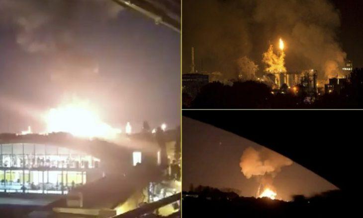 Një i vdekur dhe katër të lënduar – pamjet e shpërthimit të një fabrike kimike në Spanjë