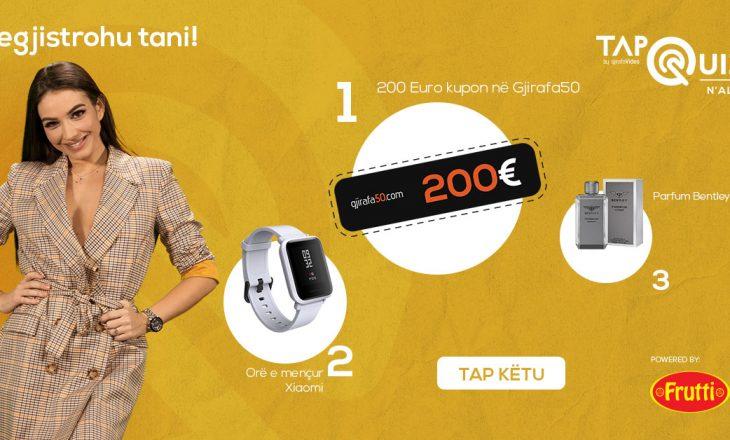 Dëshironi me I fitu 200 euro brenda 30 minutave sonte, luaj Tap Quiz