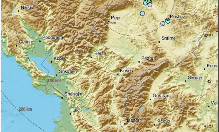 Tri tërmete të fuqishme ndodhin në botë në të njëjtën kohë, mes tyre edhe Shqipëria