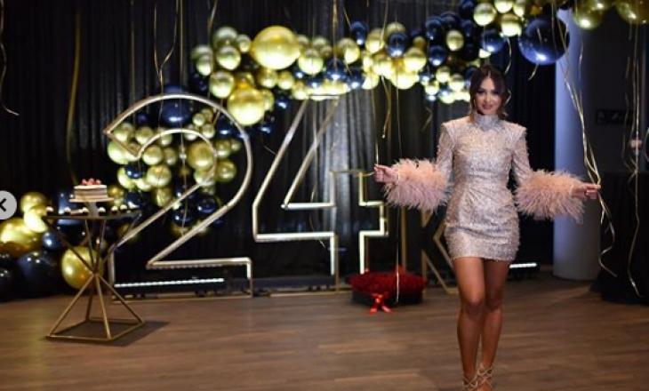 'U vrava pak por…' – Prezantuesja shqiptare rrëzohet në festën e ditëlindjes
