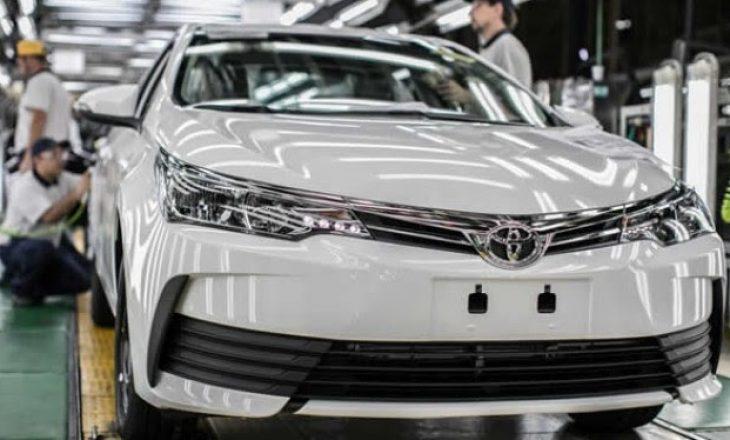 Toyota tërheq 3,4 milionë automjete për probleme me airbag-un