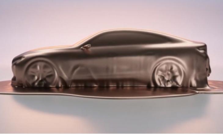 BMW paralajmëron sedanin e ri elektrik coupe