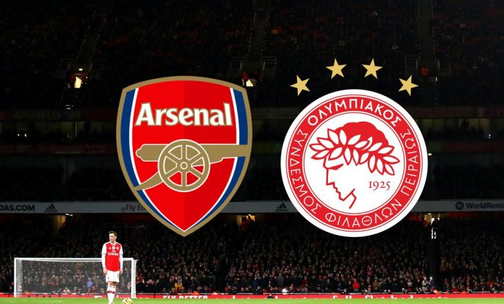 Formacionet zyrtare: Arsenal – Olympiacos